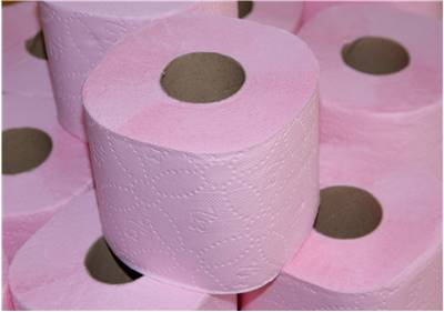 Toilet Paper Pink Brand